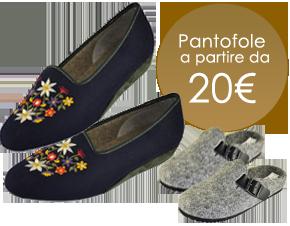 pantofole lana cotta